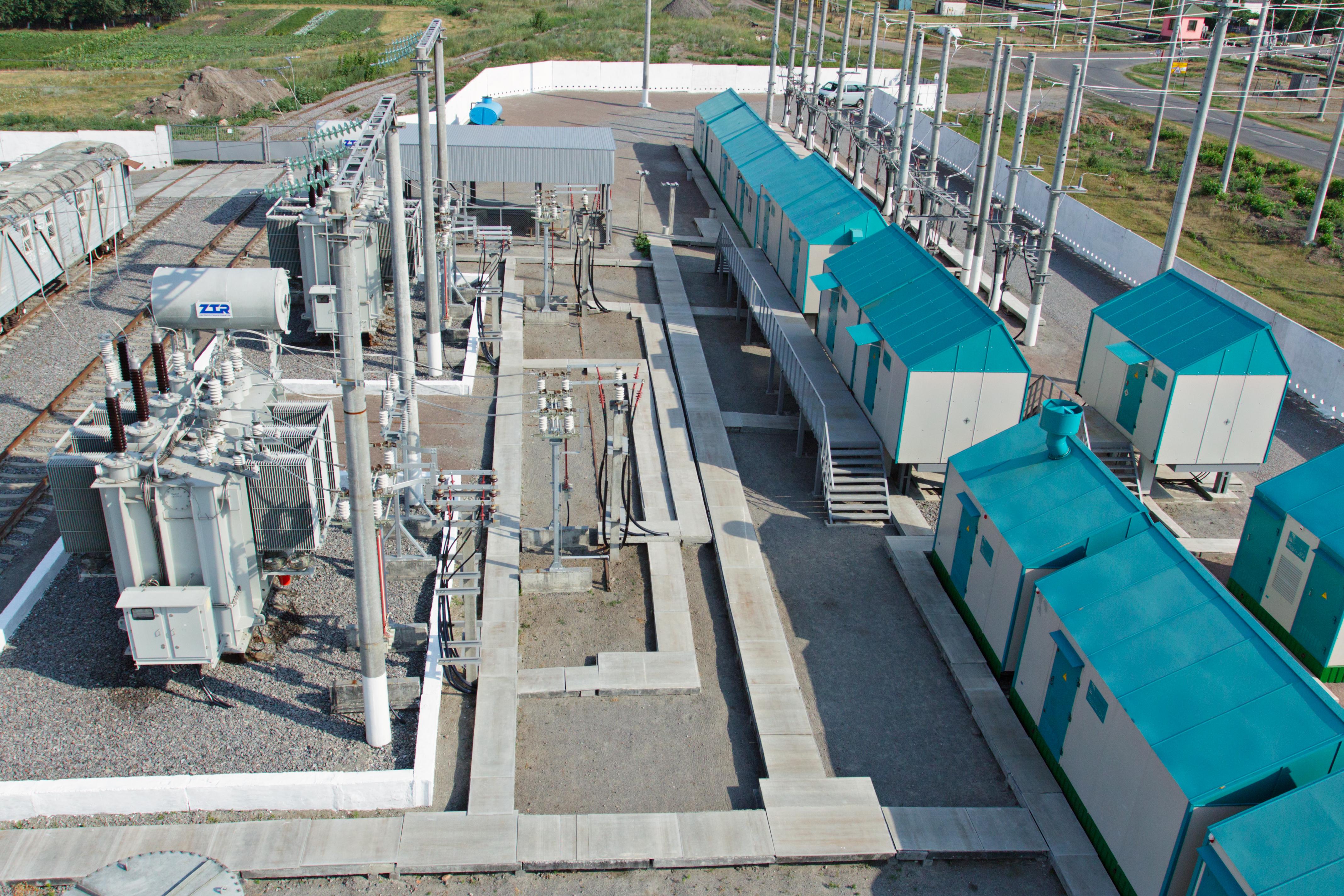 Подстанция комплектная тяговая переменного тока 27,5 кВ