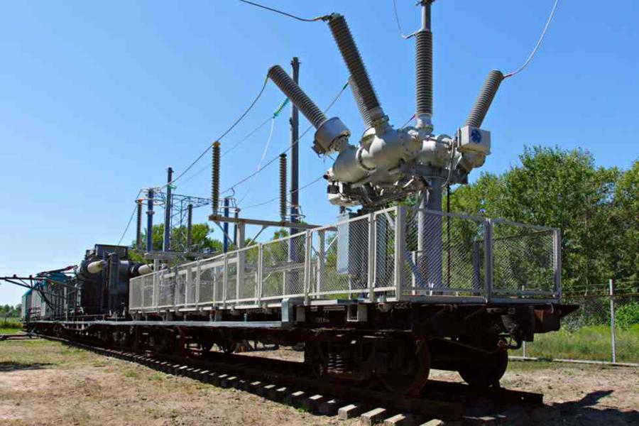 Передвижные тяговые подстанции переменного тока 27,5 кВ