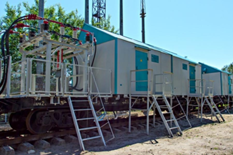 Передвижные тяговые подстанции постоянного тока 3,3 кВ