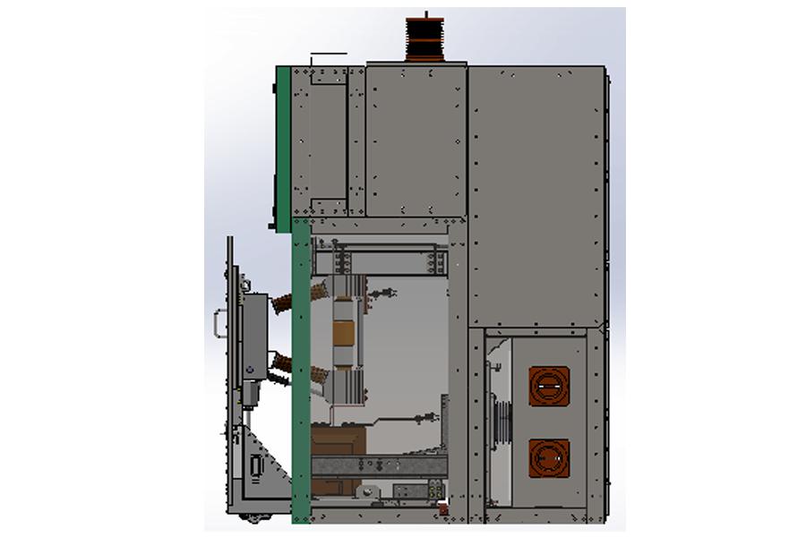 Ячейка КРУ серии К-27,5В